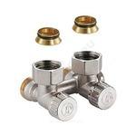 """радиаторы отопления купить узел нижнего подключения угловой, для двухтрубных систем 3/4""""f x 3/4""""e giacomini"""