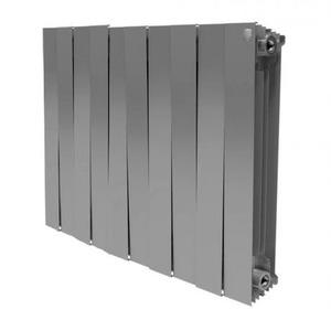 Биметаллические радиаторы отопления Royal Thermo PianoForte 500 SILVER SATIN купить в Нижнем Новгороде
