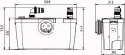 Канализационный насос Канализационная установка HiSewlift 3-15 Wilo