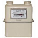 газовый счетчик бытовой купить npm g-4 газдевайс (левый)