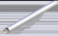 Раздельное дымоудаление Труба удлинительная 80 мм, 0,5 м купить в Нижнем Новгороде