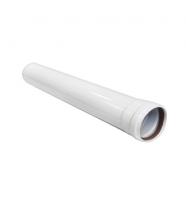 Раздельное дымоудаление Труба удлинительная  80 мм, 0,25 м купить в Нижнем Новгороде