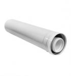 коаксиальный дымоход купить труба коаксиальная 60/100 мм, 1,0 м