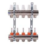 коллекторы и насосные групп купить icma k013 1 x 4 коллектор c расходомерами и кронштейнами