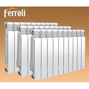 Алюминиевые радиаторы отопления FERROLI PROTEO HP 600 купить в Нижнем Новгороде
