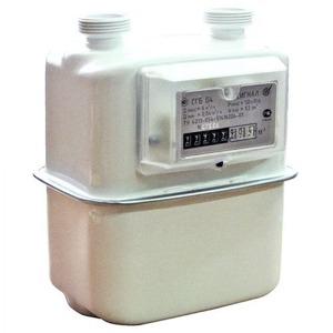 Газовый счетчик бытовой СИГНАЛ СГБ-G4 прав. (G1 1/4, аналог NPM Газдевайс, BK Эльстр) купить в Нижнем Новгороде