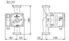 Циркуляционный насос для отопления Grundfos UPS 25-80