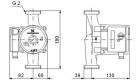 Циркуляционный насос для отопления Grundfos UPS 32-80