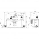 Канализационный насос Канализационная установка HiSewlift 3-35 Wilo